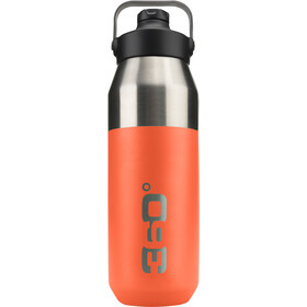 360° degrees Wide Mouth Gourde isotherme avec bouchon Sipper 750ml, orange